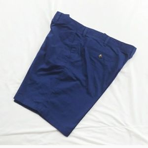 Men's Club Room Navy Flat Front Shorts Size 40